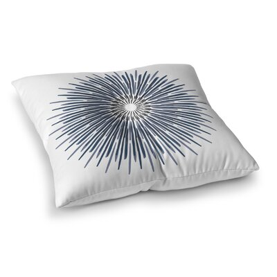 Polar Sun Square Floor Pillow Size: 23 H x 23 W x 9.5 D