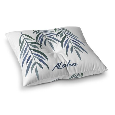 Aloha Square Floor Pillow Size: 23 H x 23 W x 9.5 D