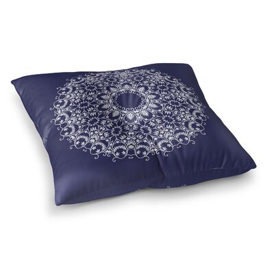 Bloom Scroll Square Floor Pillow Size: 26 H x 26 W x 12.5 D
