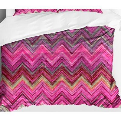 Fludd Chevron Lightweight Comforter Size: Queen