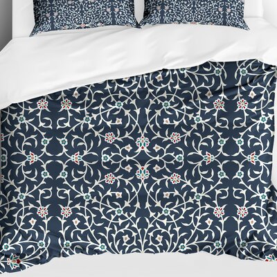 Palma Lightweight Comforter Color: Blue, Size: King