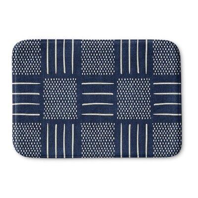 Couturier Memory Foam Bath Rug Size: 24 W x 36 L, Color: Indigo