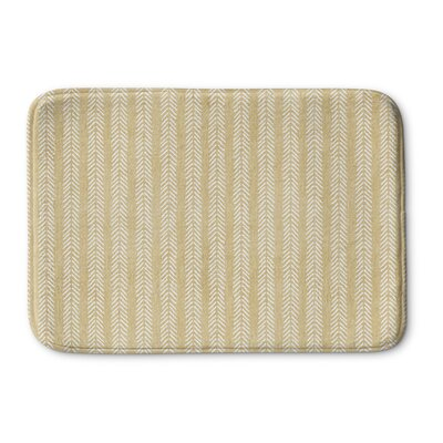 Couturier Memory Foam Bath Rug Size: 17 W x 24 L, Color: Cream