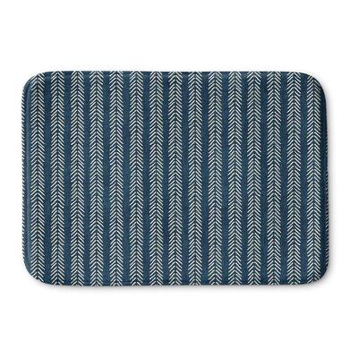 Couturier Memory Foam Bath Rug Size: 17 W x 24 L, Color: Teal