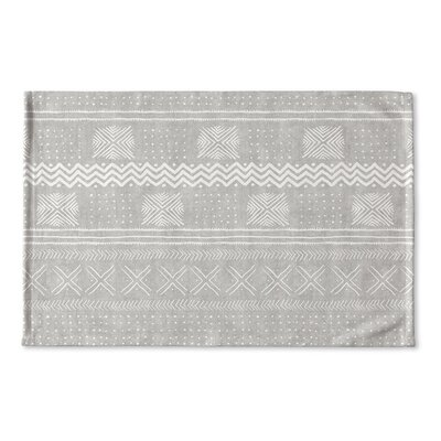 Couturier Flat Weave Bath Rug Color: Grey