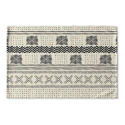 Couturier Flat Weave Bath Rug Color: Ivory