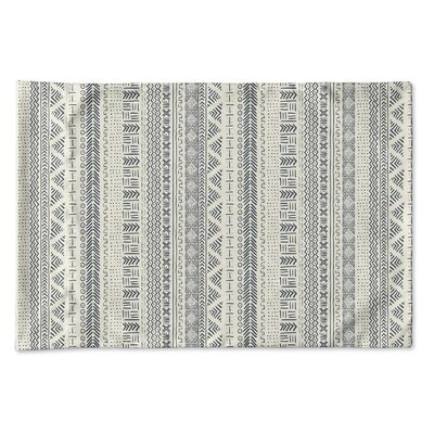 Couturier Geometric Single-sided Pillow Case Size: King, Color: Ivory