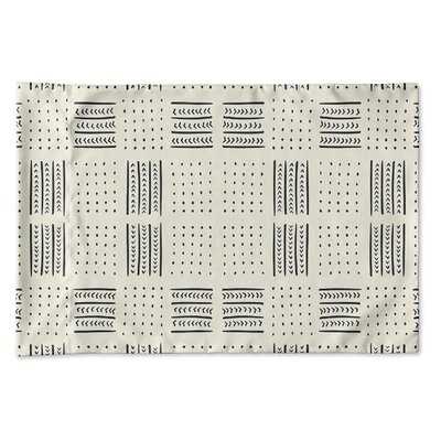 Couturier Geometric Woven Pillow Case Size: King, Color: Ivory