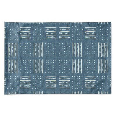 Couturier Geometric Woven Pillow Case Size: King, Color: Teal
