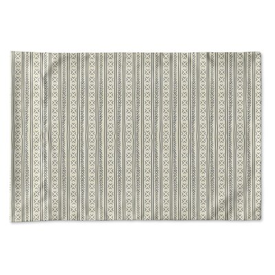 Couturier Single-sided Woven Pillow Case Size: King, Color: Ivory