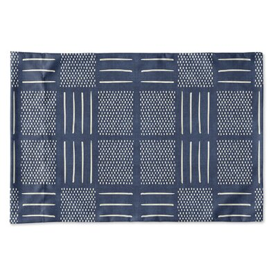 Couturier Single-sided Pillow Case Size: King, Color: Indigo