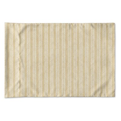 Couturier Woven Pillow Case Size: King, Color: Cream