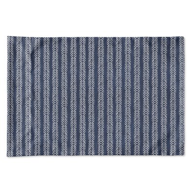 Couturier Woven Pillow Case Size: King, Color: Indigo