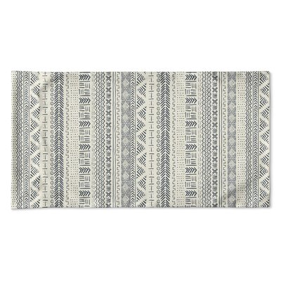 Couturier Geometric Single-sided Pillow Case Size: Queen, Color: Ivory