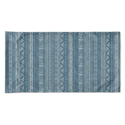 Couturier Geometric Single-sided Pillow Case Size: Queen, Color: Teal