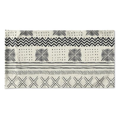Couturier Geometric Pillow Case Size: Queen, Color: Ivory