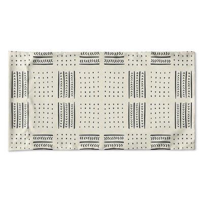 Couturier Geometric Woven Pillow Case Size: Queen, Color: Ivory
