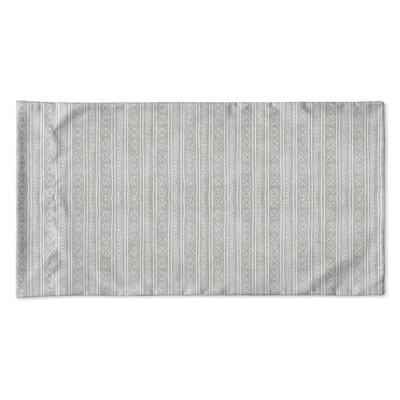 Couturier Single-sided Woven Pillow Case Size: Queen, Color: Grey