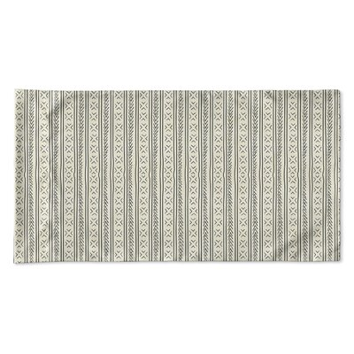 Couturier Single-sided Woven Pillow Case Size: Queen, Color: Ivory