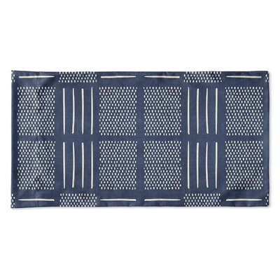 Couturier Single-sided Pillow Case Size: Queen, Color: Indigo
