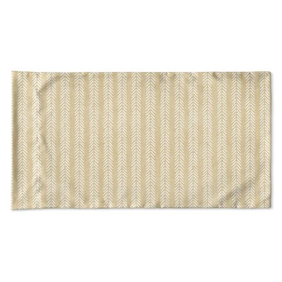 Couturier Woven Pillow Case Size: Queen, Color: Cream