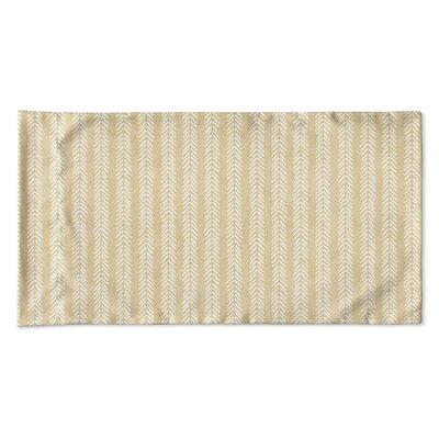 Couturier Woven Pillow Case Size: Queen, Color: Cream