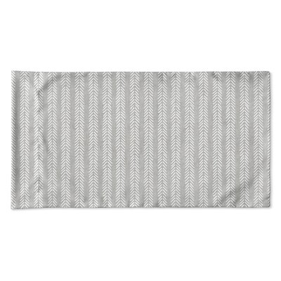 Couturier Woven Pillow Case Size: Queen, Color: Grey