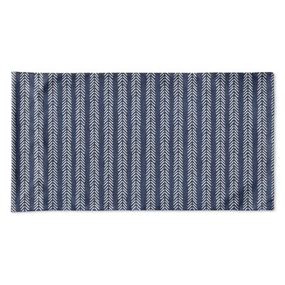 Couturier Woven Pillow Case Size: Queen, Color: Indigo