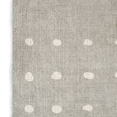 Geometric Gray Area Rug Rug Size: Rectangle 2 x 3