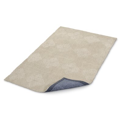Cream/White Area Rug Rug Size: Rectangle 8 x 10