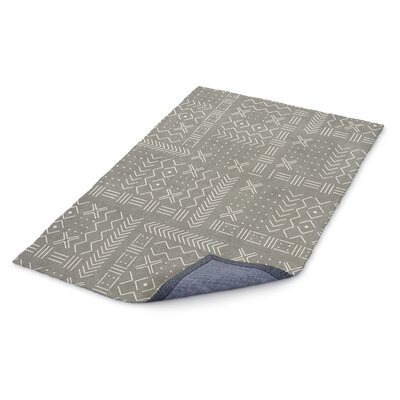 Global Gray/White Area Rug Rug Size: Rectangle 5 x 7