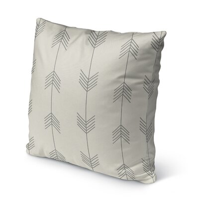 Afternoon Shower Burlap Indoor/Outdoor Throw Pillow Size: 26 H x 26 W x 5 D