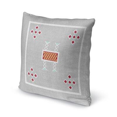 Alcrossagh Throw Pillow Size: 16 H x 16 W