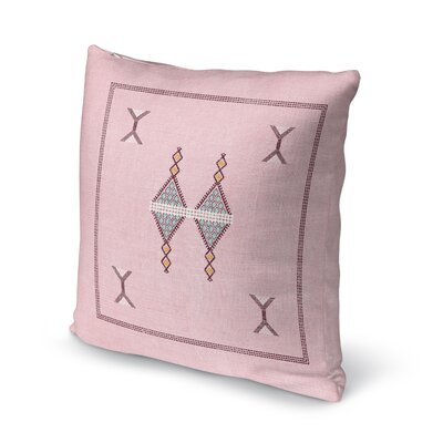 Santa Ana Throw Pillow Size: 16 H x 16 W
