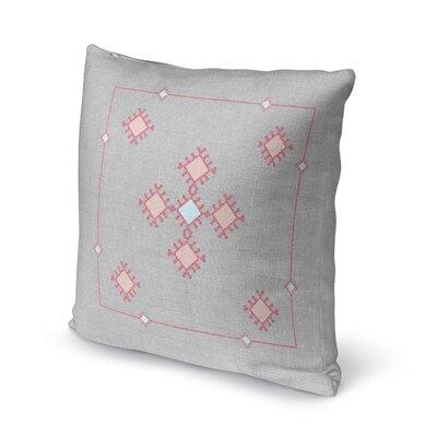 Aledo Throw Pillow Size: 16 H x 16 W