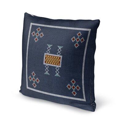 Aleman Square Throw Pillow Size: 16 H x 16 W