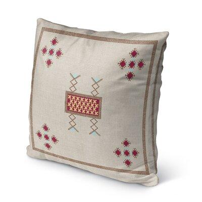 Albrightsville Indoor/Outdoor Throw Pillow Size: 16 H x 16 W