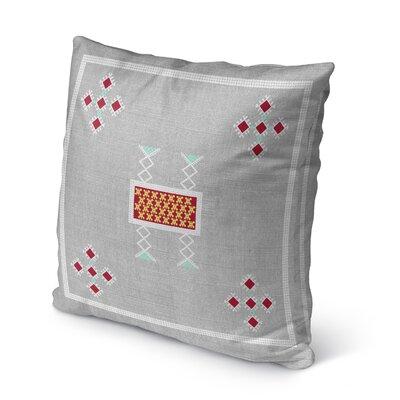 Alcrossagh Indoor/Outdoor Throw Pillow Size: 16 H x 16 W