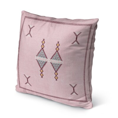 Santa Ana Indoor/Outdoor Throw Pillow Size: 16 H x 16 W