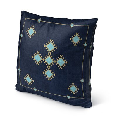 Aldridge Indoor/Outdoor Throw Pillow Size: 16 H x 16 W