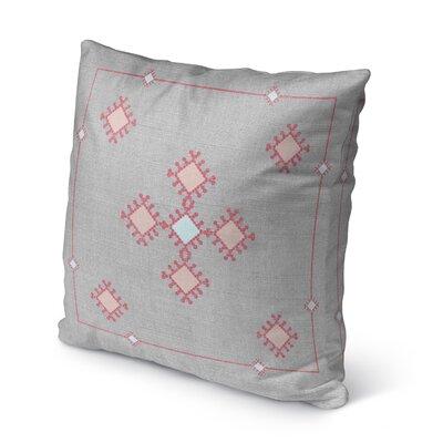 Aledo Indoor/Outdoor Throw Pillow Size: 16 H x 16 W
