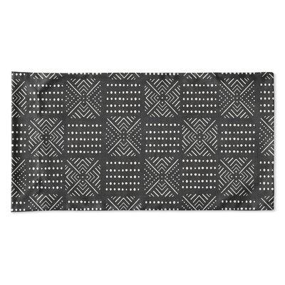 Albina Pillow Case Size: 20 H x 40 W x 0.25 D, Color: Black