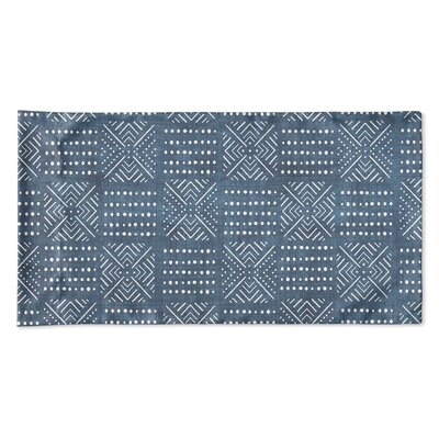 Albina Pillow Case Size: 20 H x 40 W x 0.25 D, Color: Blue