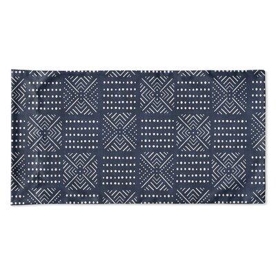Albina Pillow Case Size: 20 H x 40 W x 0.25 D, Color: Navy