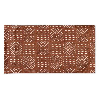 Albina Pillow Case Size: 20 H x 40 W x 0.25 D, Color: Rust