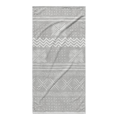 Dalton Cloth Bath Towel Color: Grey