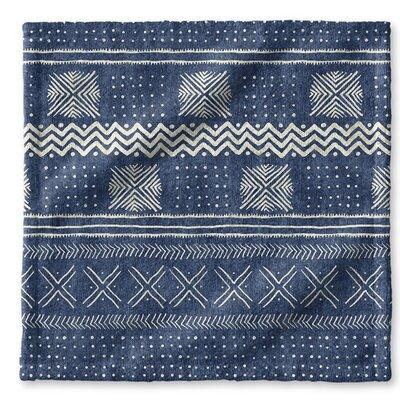 Dalton Symmetry Geometric Cloth Washcloth Color: Indigo
