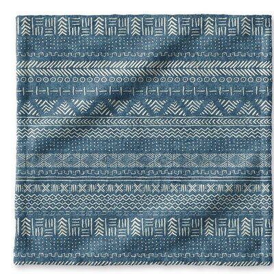 Dalton Cloth Washcloth with Single Sided Print Color: Teal