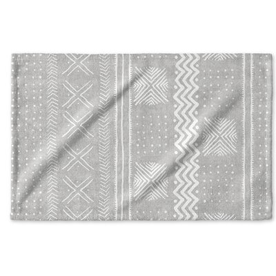 Dalton Cloth Hand Towel Color: Grey