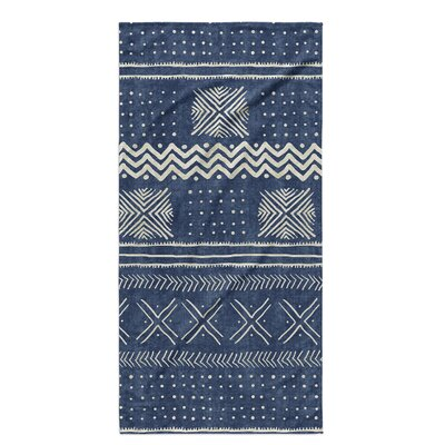 Dalton Cloth Bath Towel Color: Indigo